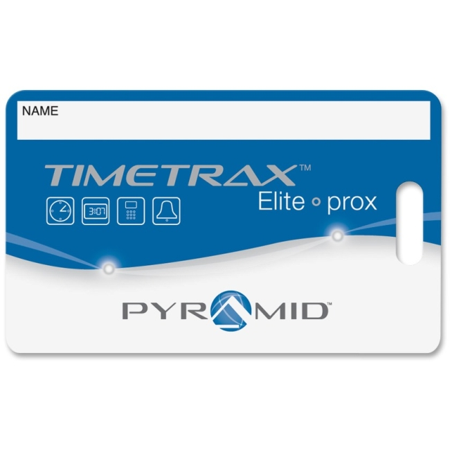 Pyramid Time TimeTrax Proximity Badge 15/pk 42454 PTI42454