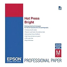 Epson Hot Press Bright Fine Art Paper S042331