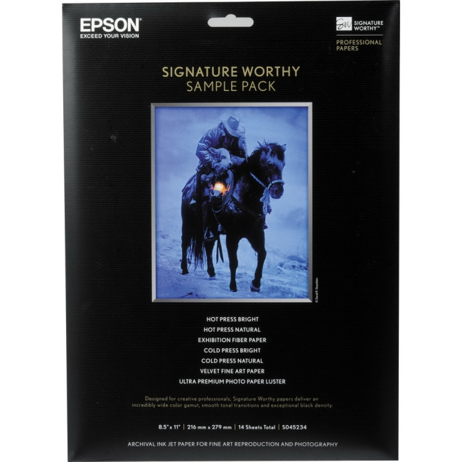 Epson Signature Worthy Sample Pack S045234