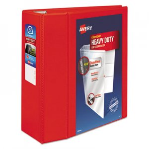 "Avery Heavy-Duty View Binder with DuraHinge and Locking One Touch EZD Rings, 3 Rings, 5"" Capacity, 11 x 8"