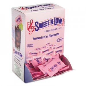 SWEET'N LOW Zero Calorie Sweetener, 1 g Packet, 400 Packet/Box, 4 Box/Carton SMU50150CT 50150 CASE