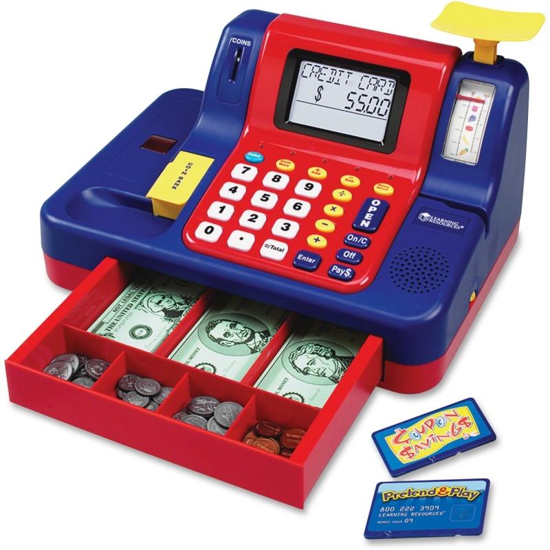 Learning Resources Teaching Cash Register LER2690 LRNLER2690