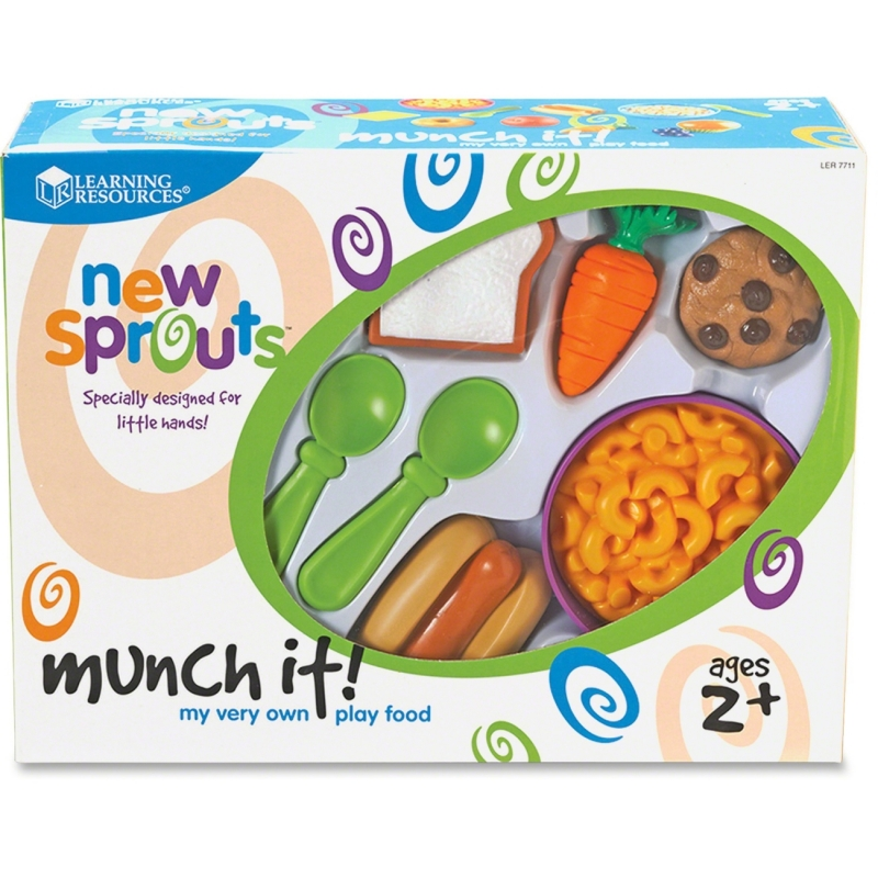 New Sprouts New Sprouts - Munch It! My Very Own Play Food LER7711 LRNLER7711