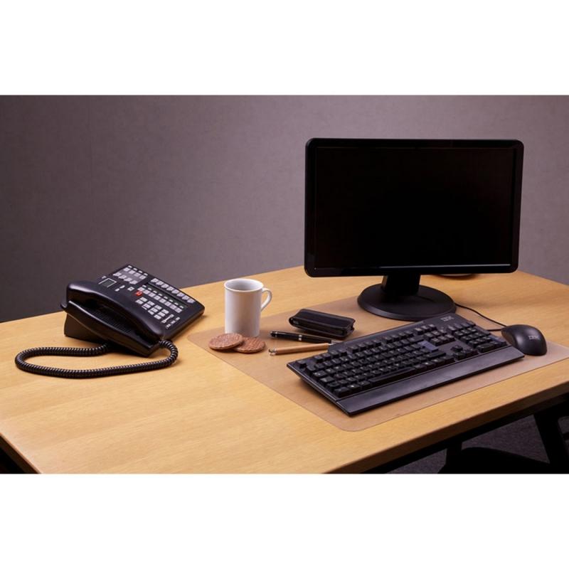 Desktex Polycarbonate Desk Pad DE2036RA FLRDE2036RA