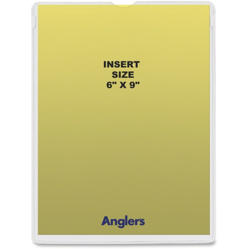 Anglers Self-stick Crystal Clear Poly Envelopes 1456P50 ANG1456P50