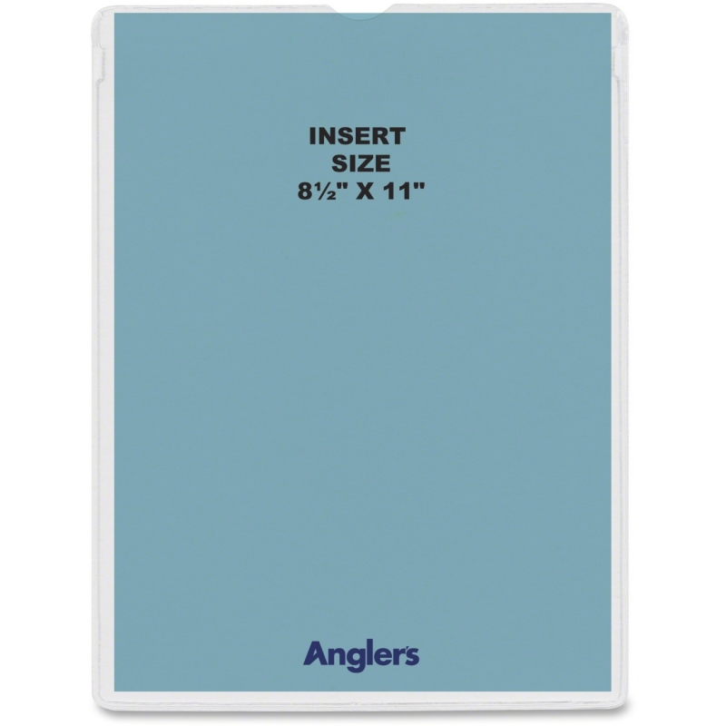 Anglers Self-stick Crystal Clear Poly Envelopes 1464P50 ANG1464P50