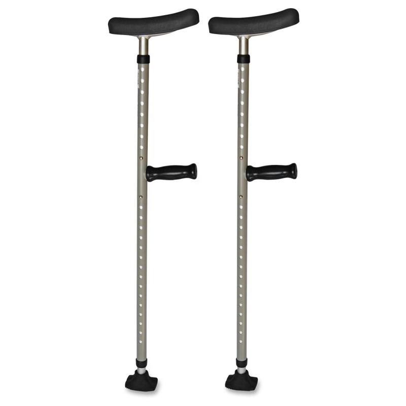 Medline Universal Single Tube Crutch MDS80542 MIIMDS80542