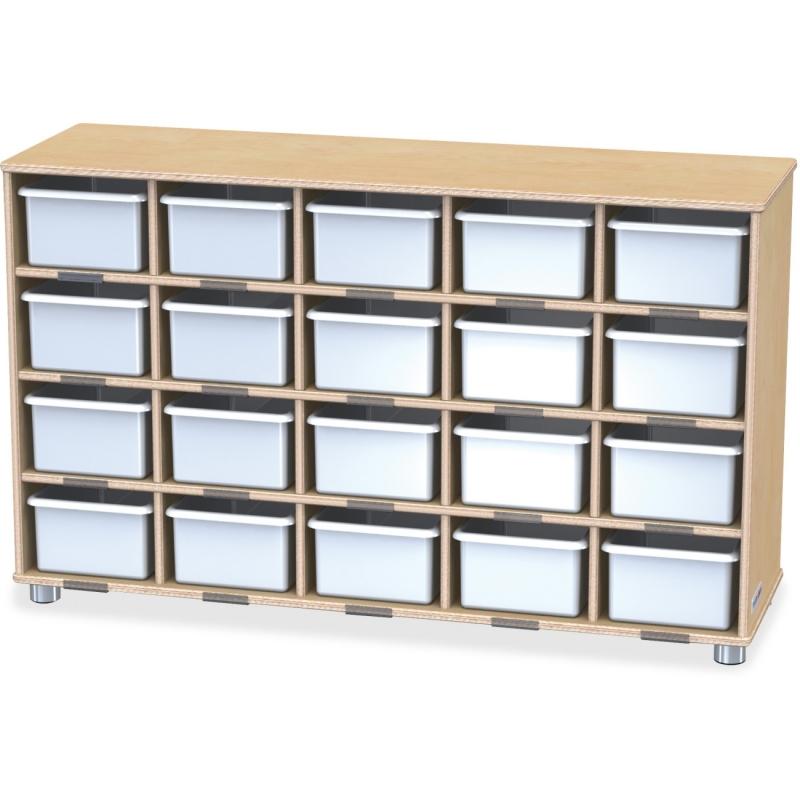 TrueModern 20-Cubbie Bins Storage 1716JC JNT1716JC