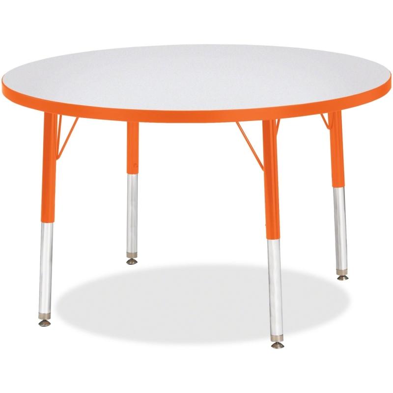 Berries Elementary Height Color Edge Round Table 6488JCE114 JNT6488JCE114