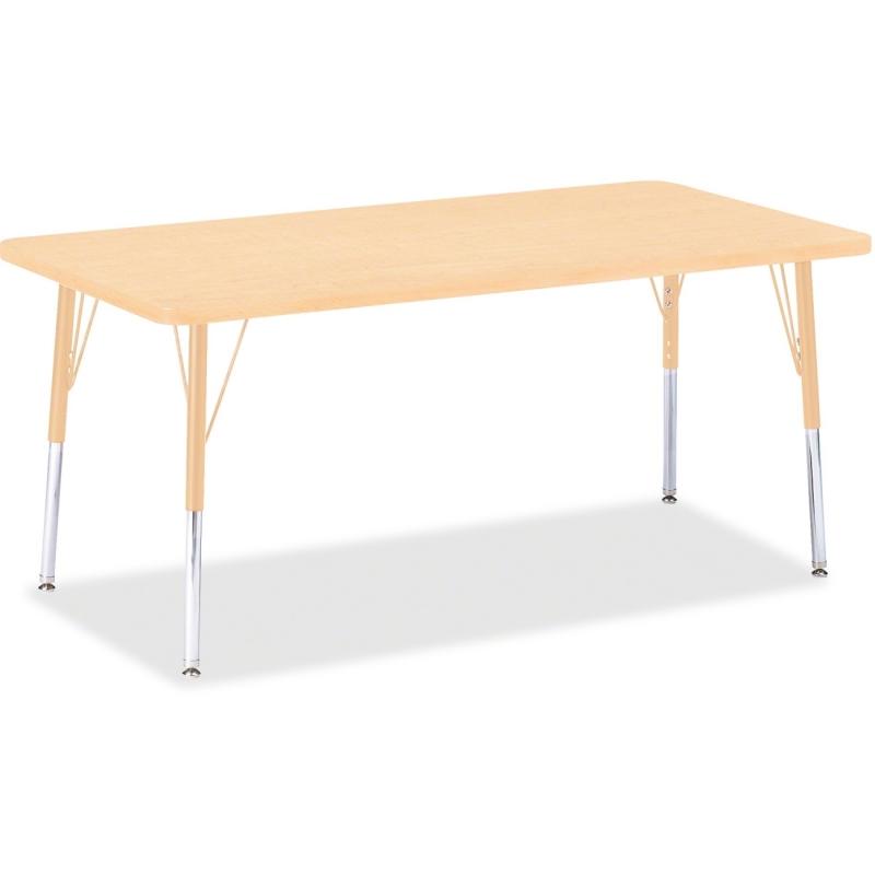 Berries Adult Height Maple Top/Edge Rectangle Table 6408JCA251 JNT6408JCA251