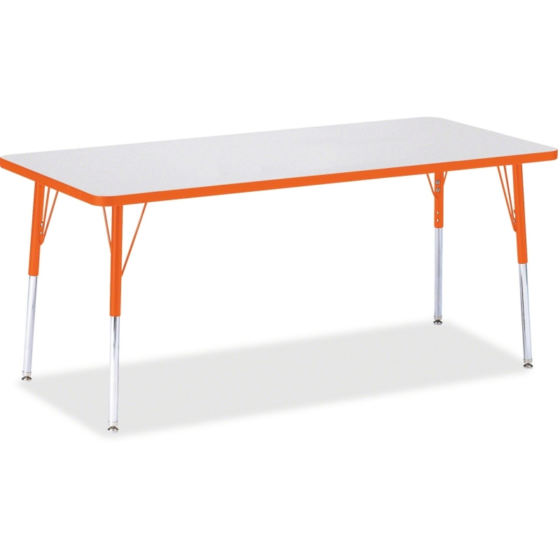 Berries Adult Height Color Edge Rectangle Table 6413JCA114 JNT6413JCA114