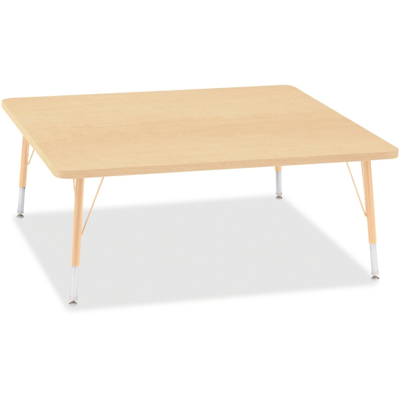 Berries Toddler Height Maple Top/Edge Square Table 6418JCT251 JNT6418JCT251
