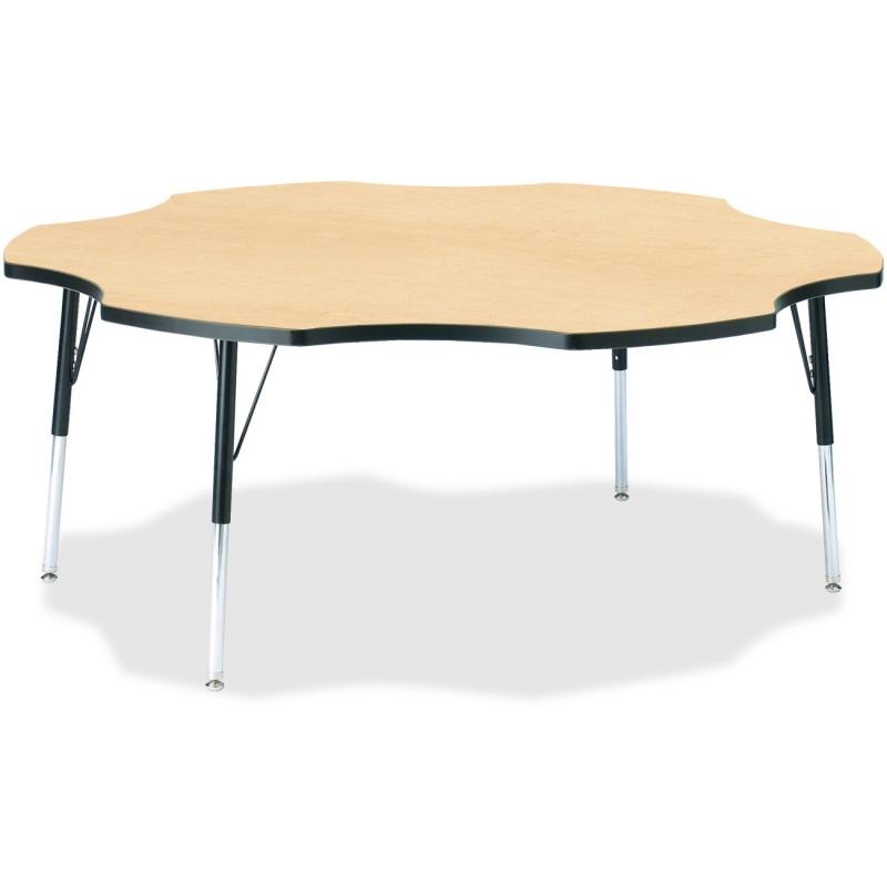 Berries Toddler Black Edge Six-leaf Table 6458JCT011 JNT6458JCT011