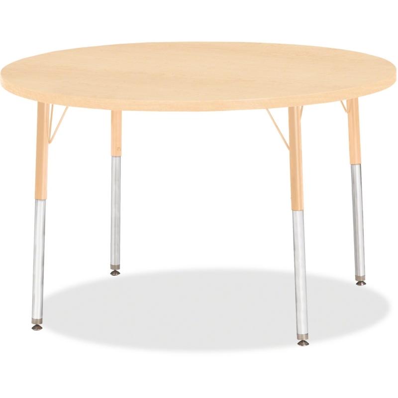 Berries Adult Height Maple Top/Edge Round Table 6468JCA251 JNT6468JCA251