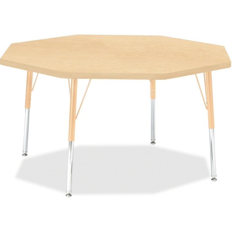 Berries Elementary Height Maple Top/Edge Octagon Table 6428JCE251 JNT6428JCE251