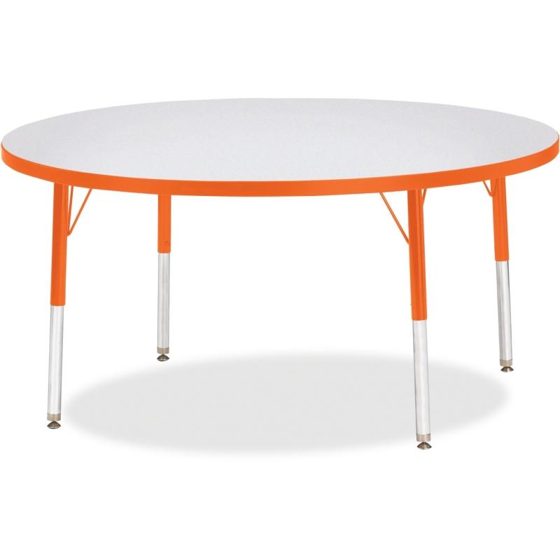Berries Elementary Height Color Edge Round Table 6433JCE114 JNT6433JCE114