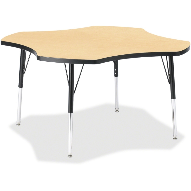 Berries Elementary Black Edge Four-leaf Table 6453JCE011 JNT6453JCE011
