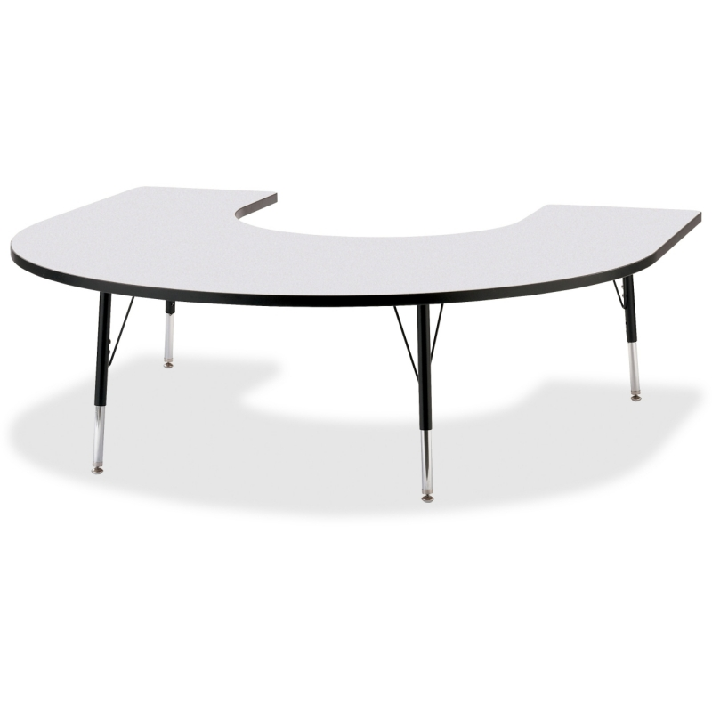 Berries Elementary Height Prism Edge Horseshoe Table 6445JCE180 JNT6445JCE180