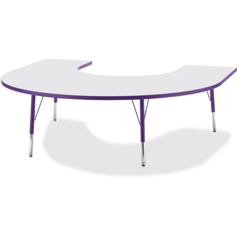 Berries Elementary Height Prism Edge Horseshoe Table 6445JCE004 JNT6445JCE004