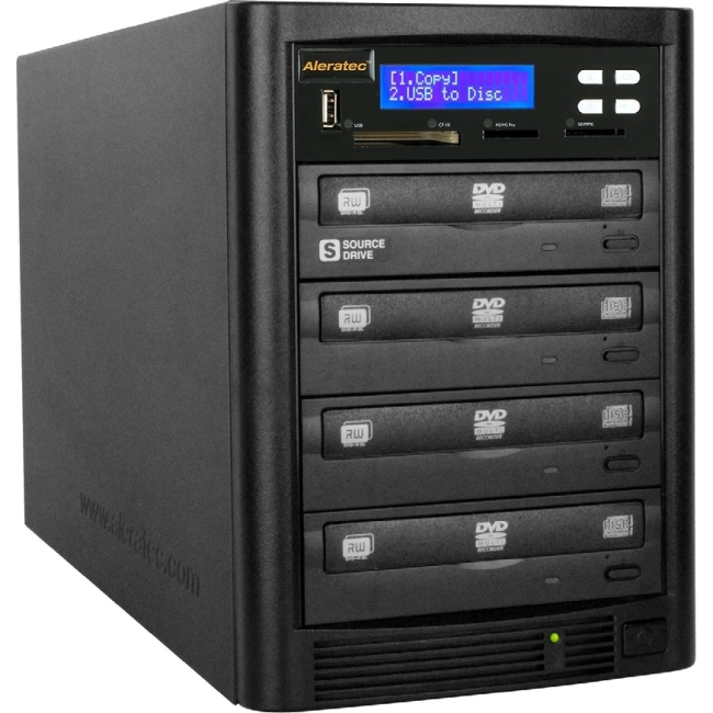 Aleratec DVD/CD Flash Copy Tower 310109