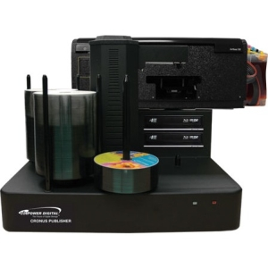 Vinpower Digital Cronus DVD/CD Publisher with CISS Solvent Ink Printer - 2 Drives CRONUS-802S