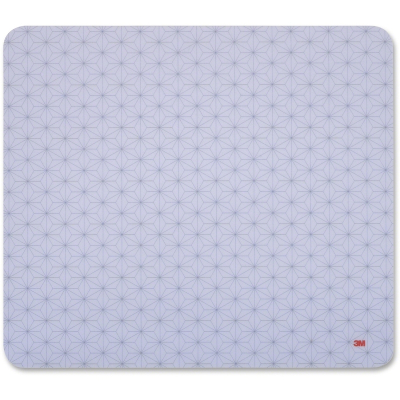 3M Precise Nonskid Reposition Bitmap Mouse Pad MP114-BSD1