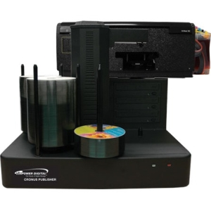 Vinpower Digital Cronus DVD/CD Publisher with CISS Solvent Ink Printer - 3 drives CRONUS-803S
