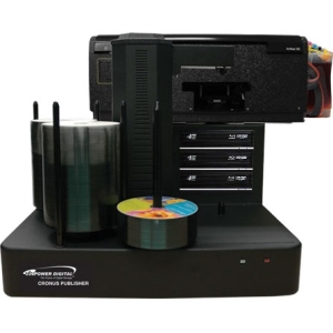 Vinpower Digital Cronus BD/DVD/CD Publisher with CISS Solvent Ink Printer - 3 drives CRONUS-803S-BD