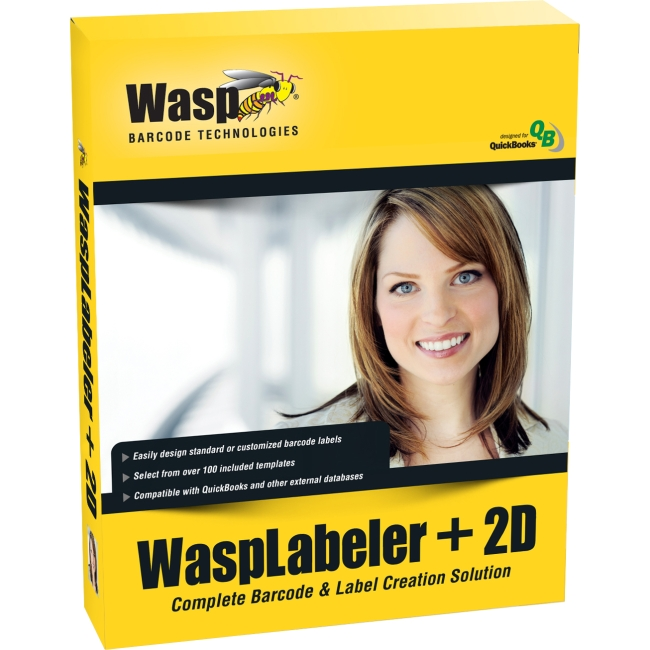 Wasp Wasp Labeller +2D v.7.0 - Version Upgrade Package - 1 User 633808105334