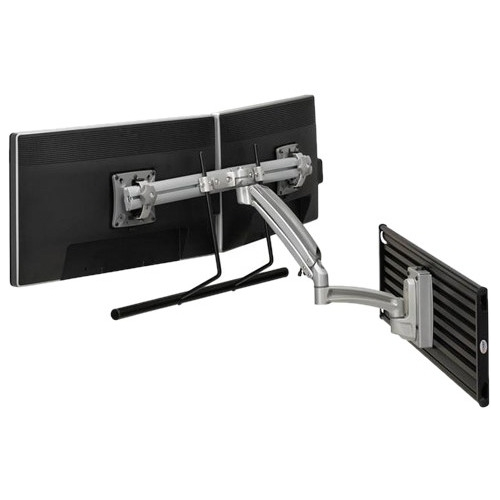 Chief Kontour K1S Dynamic Slatwall Mount, Dual Monitor Array K1S22HS
