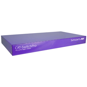 SmartAVI 16x8 Matrix Cat5 Video Switch with RS-232 Control CSW16X08S