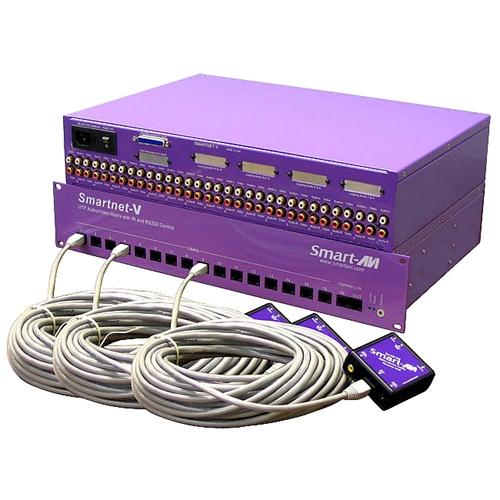 SmartAVI SmartNetV IRX-SW Video Switch SNV64X16S