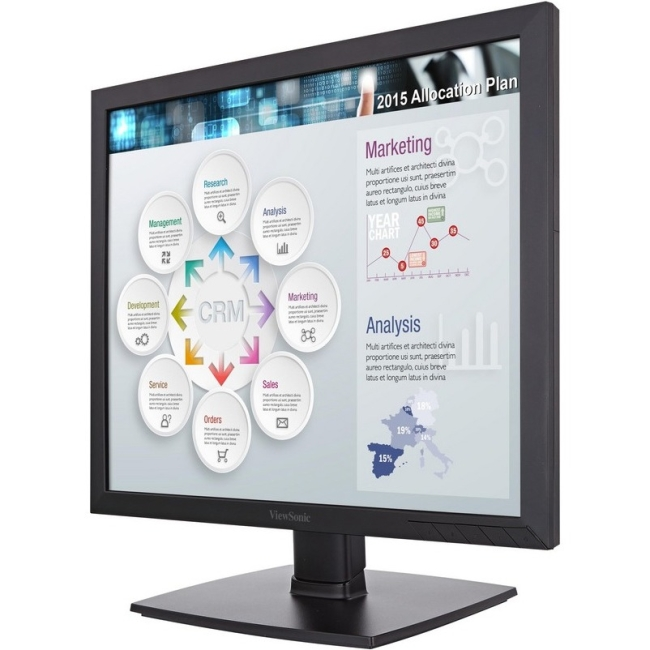 "Viewsonic 19"" 5:4 LED Display with SuperClear Technology VA951S"