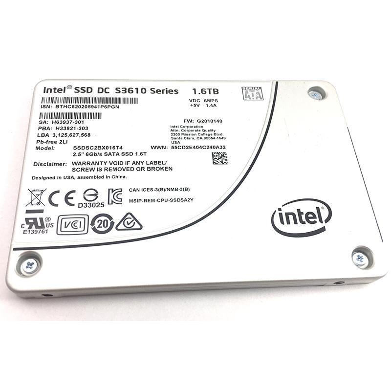 Intel DC S3610 Solid State Drive SSDSC2BX016T401