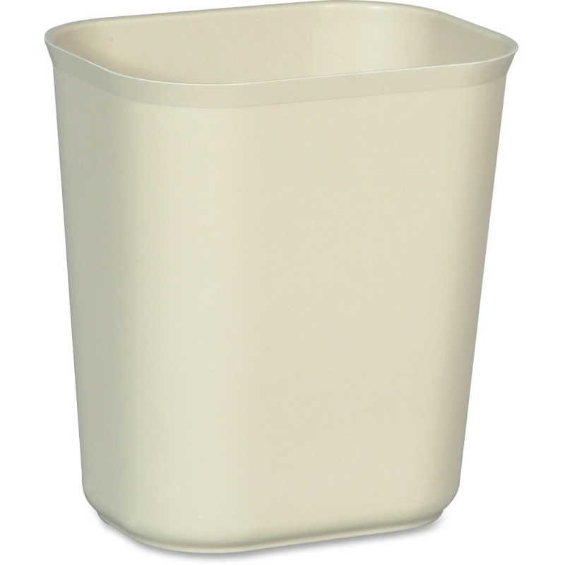 Rubbermaid Commercial 14qt. Fire Resistant Wastebaskets 254100BEIG RCP254100BEIG