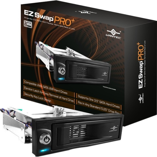 Vantec EZ Swap PRO+ Drive Bay Adapter MRK-311S6