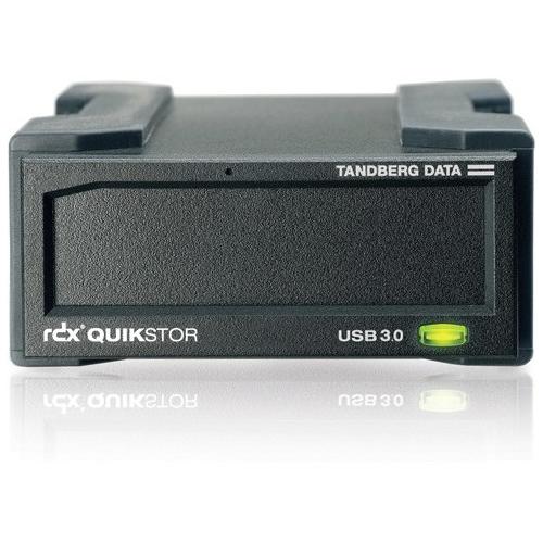 Tandberg Data RDX QuikStor External Drive, USB3+ 8782-RDX