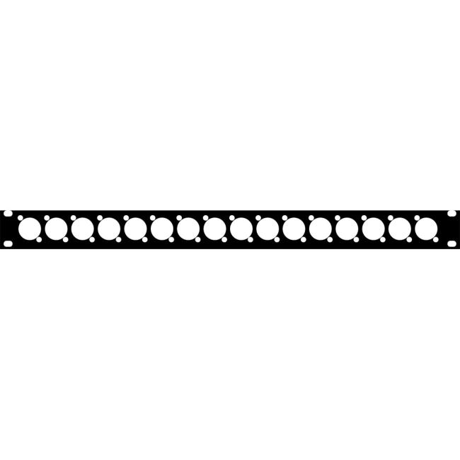 "Telex 19"" Blank Mounting Frame BOP-1000"