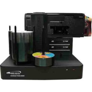 Vinpower Digital Cronus BD/DVD/CD Publisher with CISS Solvent Ink Printer - 2 drives CRONUS-802S-BD