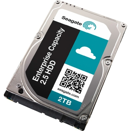 Seagate Enterprise Capacity 2.5 HDD 12GB/s SAS 4KN 2TB Hard Drive With SED FIPS ST2000NX0333