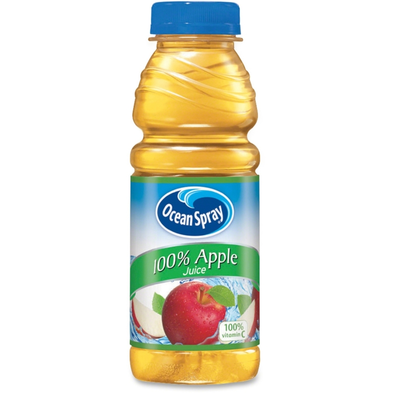 Ocean Spray Bottled Apple Juice 123365 PEP123365