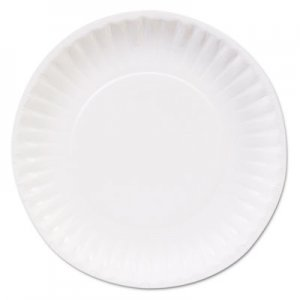 "Dixie Clay Coated Paper Plates, 6"", White, 100/Pack DXEDBP06WCT DBP06W"