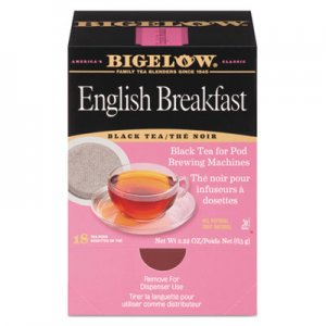 Bigelow English Breakfast Tea Pods, 1.90 oz, 18/Box BTC009906 RCB09906