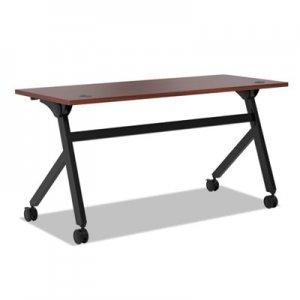 HON Multipurpose Table Flip Base Table, 60w x 24d x 29 3/8h, Chestnut BSXBMPT6024PC HBMPT6024P.C1