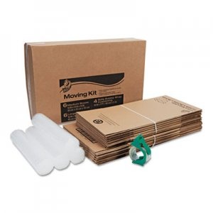 Duck Moving Kit, Assorted, Regular Slotted Container (RSC), Assorted Sizes, Assorted Colors, 12/Pack DUC280640 280640