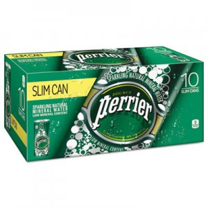 Perrier Sparkling Natural Mineral Water, 8 oz Can, 10/Pack, 3 Pack/Carton NLE12188938 12237498