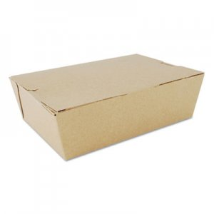 SCT ChampPak Carryout Boxes, Brown, 7 3/4 x 5 1/2 x 2 1/2, 200/Carton SCH0733 SCH