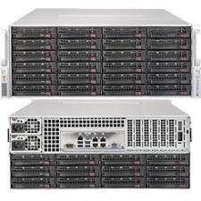 Supermicro SuperServer (Black) SSG-6048R-E1CR36N 6048R-E1CR36N