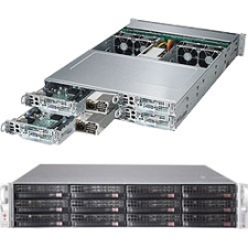 Supermicro SuperServer (Black) SYS-6028TP-HC0TR 6028TP-HC0TR