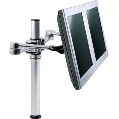 HealthPostures Dual Monitor w/Articulating Arm via Ergoguys 6912